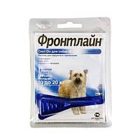 Фронтлайн Спот Он M, капли на холку для собак массой 10–20 кг, 1 пипетка