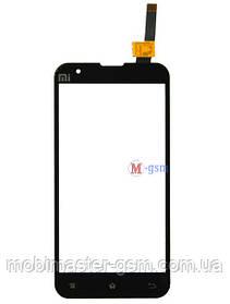 Сенсор (тачскрин) для телефона Xiaomi Mi2a черный