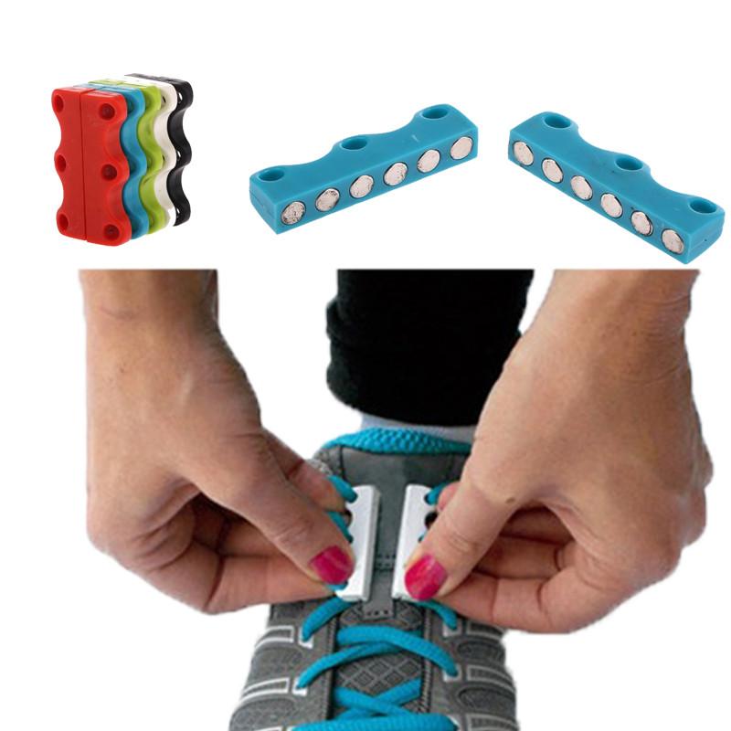 Магниты для шнурков Magnetic Shoelaces 35 мм - магнитные шнурки для обуви
