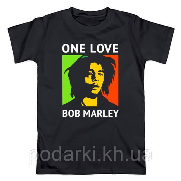 Футболка  мужская Bob Marley