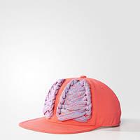 Стильная кепка женская с прямым козырьком adidas STELLASPORT Lace BJ9281 - 2017