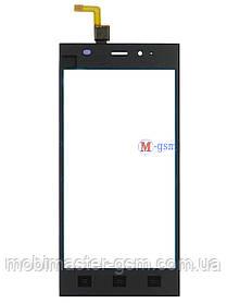 Сенсор (тачскрин) для телефона Xiaomi Mi3 черный