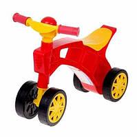 Детская каталка Трехколёсный велосипед без педалей велобег, Ролоцикл, Технок 2759 (61х49х26 см)