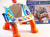 Детская игрушка Синтезатор с микрофоном на батарейках  BB83B