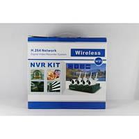 Комплект видео наблюдения с беспроводными камерами DVR KIT 6004 WIFI / 3204 4ch