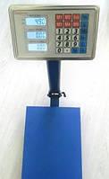 Весы торговые электронные ACS150 kg 40*50 Domotec Fold  6V