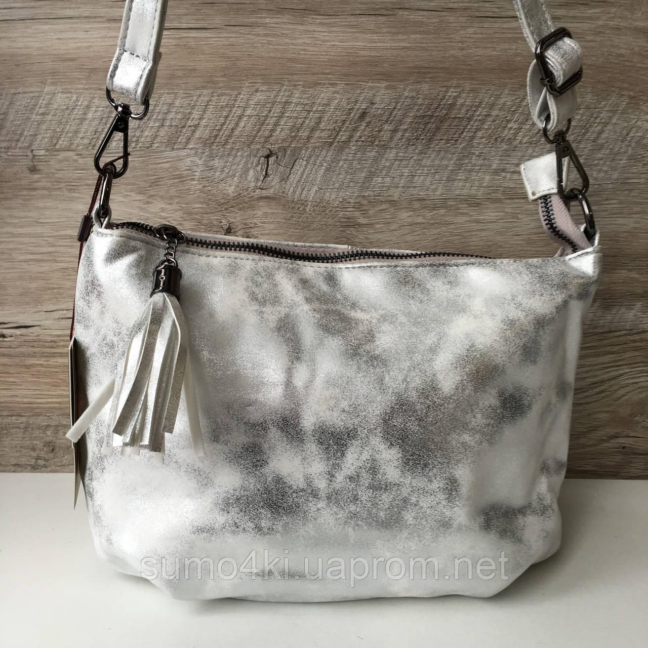 b83b6ed18402 Купить Женскую яркую летнюю сумку Valensiy серебро Бронзу Золото ...