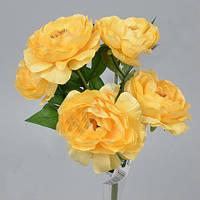 Букет   желтых Камелий 35см Цветы искусственные