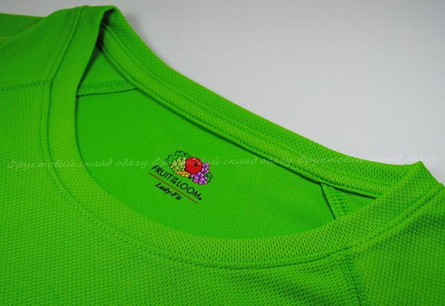Лайм женская спортивная футболка