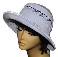 Шляпа женская Бахрама белая