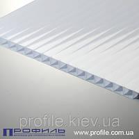 Сотовый поликарбонат Polygal белый 4мм