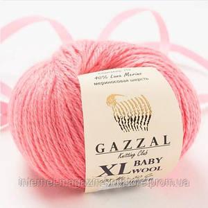 Пряжа Gazzal Baby Wool XL Рожевий