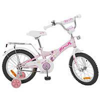 Двухколесный велосипед PROFI 16 дюймов G1661 Original girl розовый