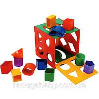 Детская развивающая игрушка Сортер-Шкатулка ТМ Орион 177