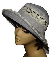 Шляпа женская Бахрама кофе