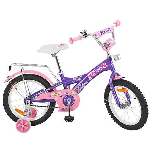 Двухколесный велосипед PROFI 16 дюймов G1663 Original girl фиолетовый