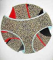 Трусы банальные леопард (бамбук)