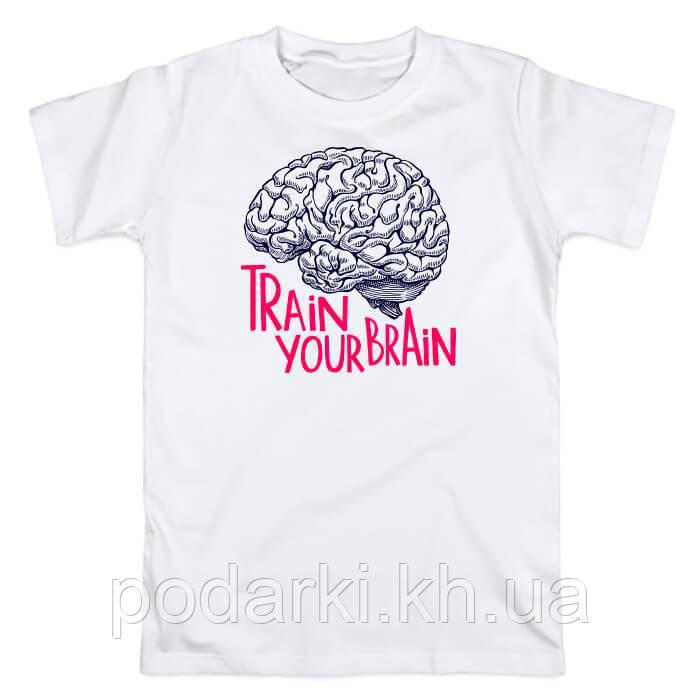 "Мужская футболка ""Мега мозг"""