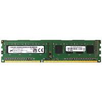 Оперативная память для компьютера 4Gb DDR3, 1600 MHz (PC3-12800), Micron, 11-11-11-28, 1.5V (MT8JTF51264AZ-1G6E1)