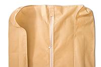 Чехол для объемной верхней одежды с ручками 60х150х15 см, бежевый