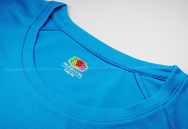 Ультрамариновая женская спортивная футболка