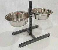 Стояк с 2-мя мисками (4,1л) для собак гигантских пород (Hap Pet ММ26)