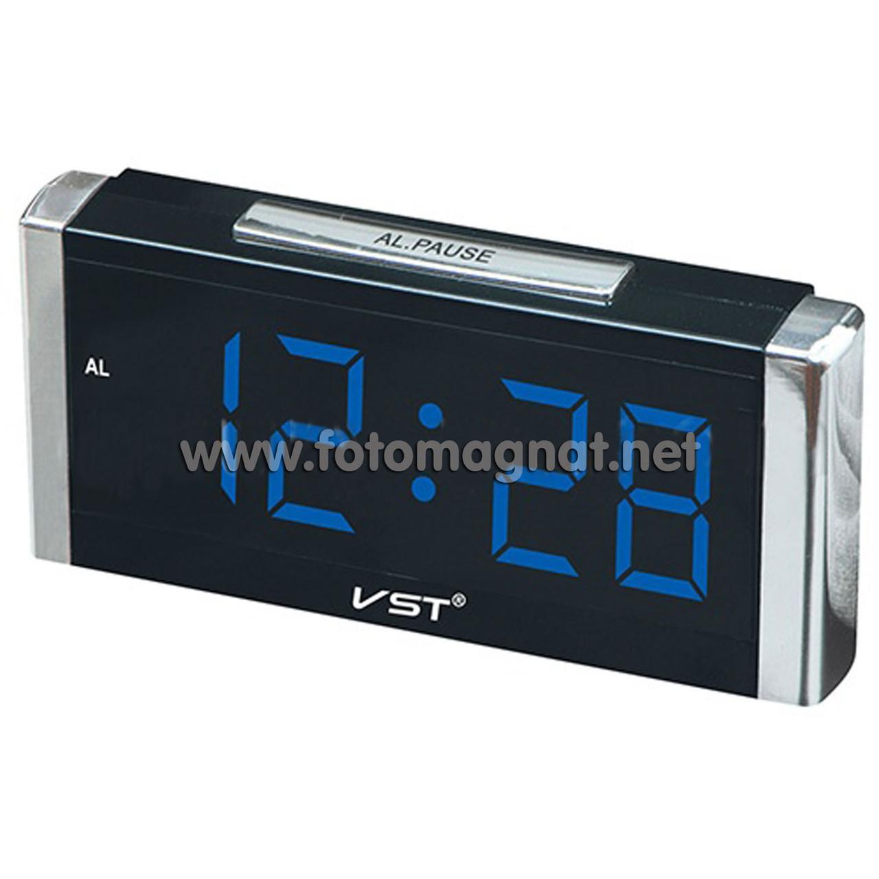 Часы сетевые  VST 731-5, Настольные электронные часы