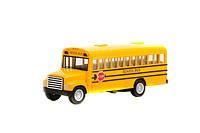 Машинка металл KINSMART KS5107W школьный автобус