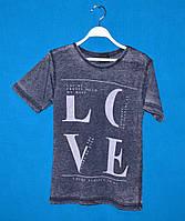 Подростковая футболка для мальчика LOVE