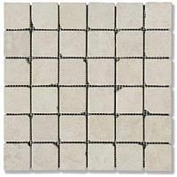 Мраморная мозаика Victoria Beige 48*48*6 ( АНТИК старенная)