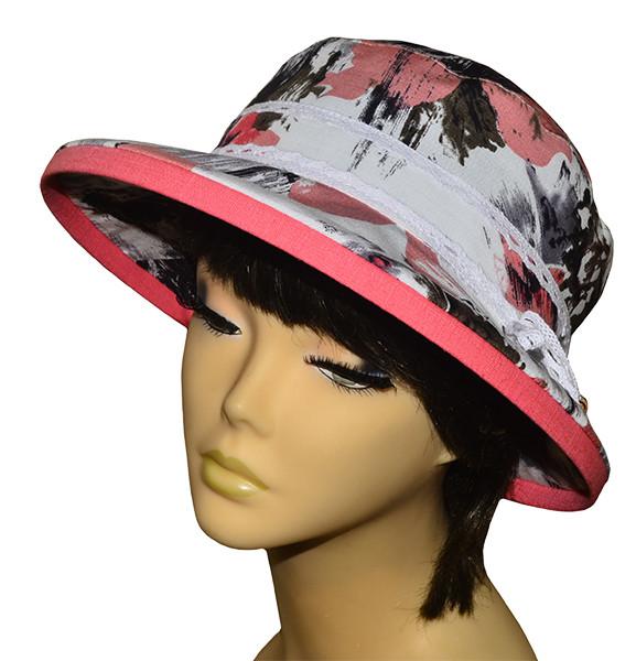 Шляпа женская Любава х/б аленький цветочек