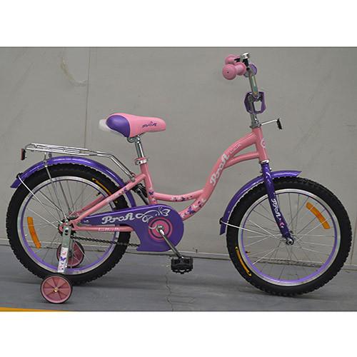 Двухколесный велосипед PROFI 18 дюймов G1821 Butterfly розовый