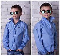 Детская стильная рубашка, ткань -  рубашечный турецкий коттон (98% коттон)