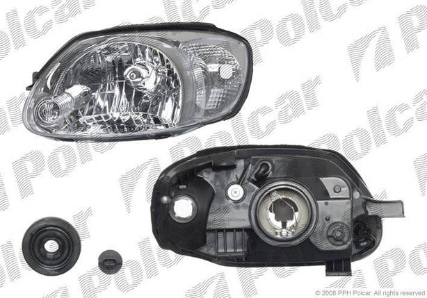 Передняя фара Hyundai Accent 2002-2006 год правая, фото 2