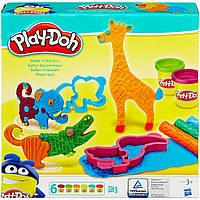 Весёлое сафари, набор с пластилином, Play-Doh