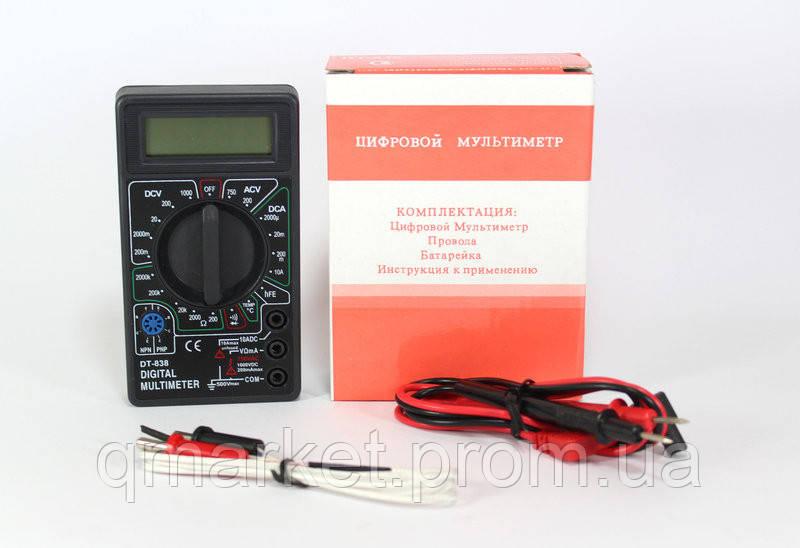 Измерительный прибор цифровой мультиметр DT 838 - Интернет-магазин «Qmarket» в Одессе