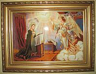 Икона из янтаря Благовещение.