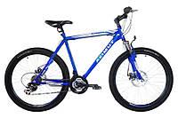 Спортивный велосипед 26 дюймов Azimut Energy  219-G-FR/D-1 (оборудование SHIMANO) синий***