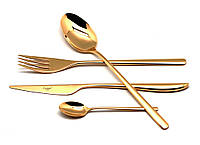 Cutipol Icon Gold Набор ложек столовых 6 шт