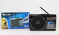 Радиоприемник Golon RX-080, музыкальная колонка, радио с фонариком