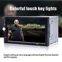 Автомагнитола 2DIN MP5-7012B, магнитола автомобильная USB+Bluetoth+Камера (copy)