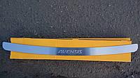 Накладка на бампер Toyota Avensis II 4D 2003-2009