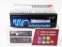 Автомагнитола Pioneer 8506DBT Bluetooth Usb+RGB подсветка+Fm+Aux+съемная панель+пульт (4x50W)