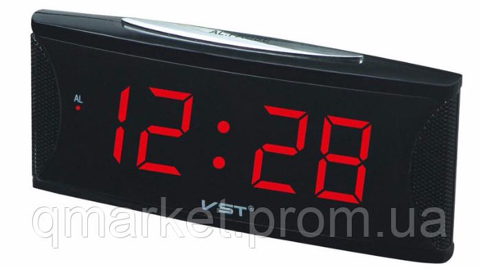 cfef133f0999 Настольные электронные говорящие часы VST 719T-1 (красное табло)   продажа,  цена в Одессе. часы для дома от