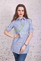 Блузка-туника женская весна 2017 от производителя - (код бл-104)