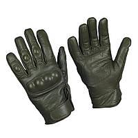 Тактические перчатки с защитой, olive. Mil-tec, Германия.