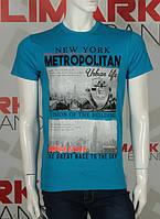 "Качественная мужская футболка ""METROPOLITAN"""