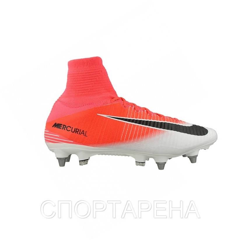 Профессиональные футбольные бутсы Nike Mercurial Superfly V SG Pro  831956-601 - СПОРТАРЕНА в Днепре c729e1b3844