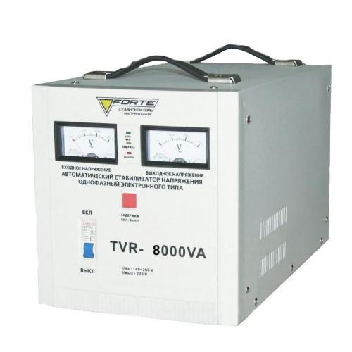 СТАБИЛИЗАТОР РЕЛЕЙНЫЙ (1 Ф) - TDR-8000VA (8кВт) (FORTE)