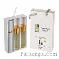 Chanel Egoiste Platinum EDP 3x15ml MINI
